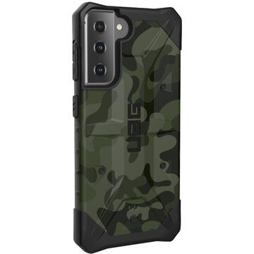 Husa UAG Husa Pathfinder Series Samsung Galaxy S21/S21 5G Forest Camo SE (military drop tested)