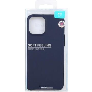 Husa Goospery Husa Soft Feeling iPhone 12 Pro Max Navy Blue