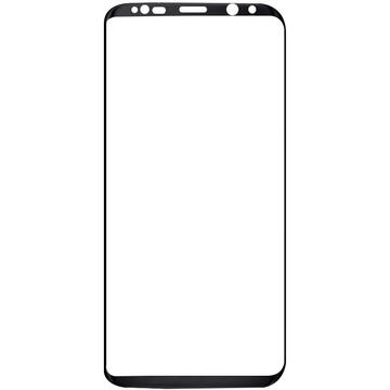 Magic Folie Sticla 3D Full Cover Samsung Galaxy S8 G950 Black (0.33mm, 9H)