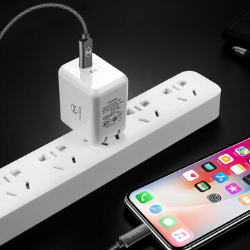 Mcdodo Cablu PD Quick Charge Lightning la Type-C Space Gray (1.2m)-T.Verde 0.1 lei/buc