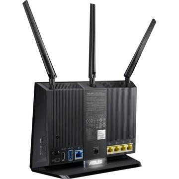 Router wireless Asus RT-AC68U V3 AC1900 AiMesh Wireless Router