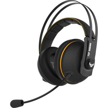 Casti Asus TUF Gaming H7 Wireless, Headset (black / yellow)
