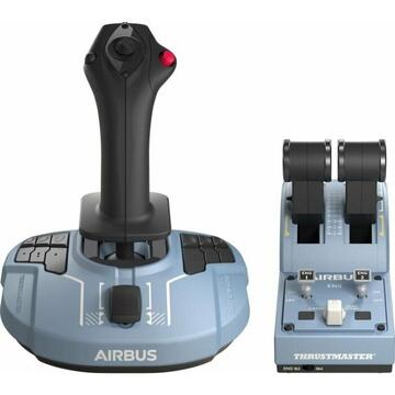 Thrustmaster TCA Officer Pack Airbus Edition, set(blue-grey / black)