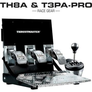 Thrustmaster TH8A & T3PA-PRO Race Gear Set(silver / black)