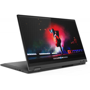 Notebook Lenovo 15.6'' IdeaPad Flex 5 15ALC05 FHD IPS Touch AMD Ryzen 7 5700U 16GB DDR4 512GB SSD Radeon Win 10 Home Graphite Grey