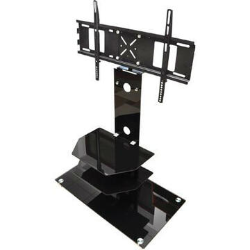 CABLETECH STAND TV / LCD 50KG/50 inch NEGRU