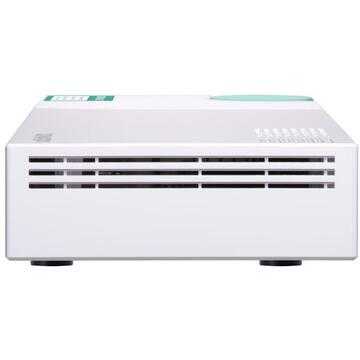 NAS QNAP QSW-308-1C network switch Unmanaged Gigabit Ethernet (10/100/1000) White