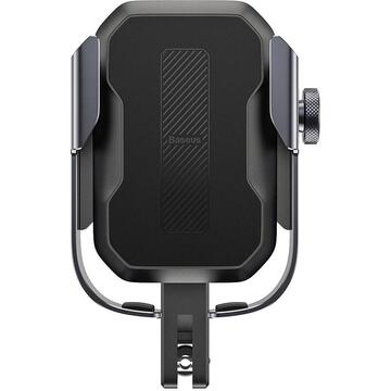 Baseus Armor Phone holder for motorcycle/bicycle/scooter (black)