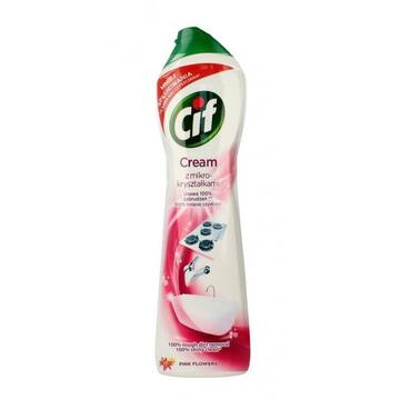 Cif Cream Pink Flowers Cleaner with Micro-Crystals 540 g