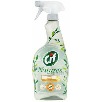 Cif Nature's Recipe Cleaning Spray with Lemon 750 ml
