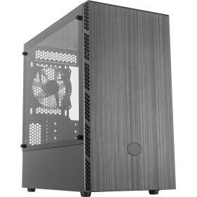 Carcasa Cooler Master MasterBox MB400L TG, tower case(black, tempered glass, version without optical drive bay)