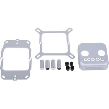 Alphacool Eisblock XPX CPU replacement Cover, silver matte - 12697