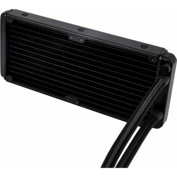 Silverstone Technology Silverstone SST-PF240 ARGB, water cooling(. Black, with RGB controller)