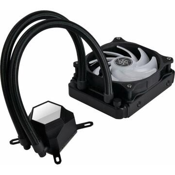 Silverstone Technology Silverstone SST-PF120 ARGB, water cooling(. Black, with RGB controller)