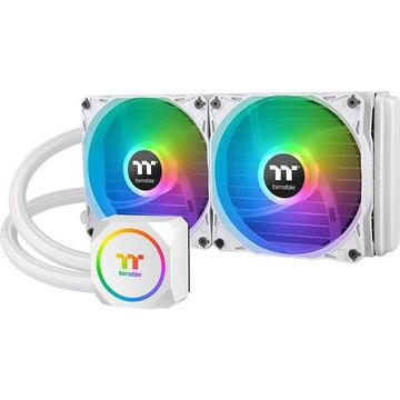 Thermaltake TH240 ARGB Sync Snow Edition, water cooling