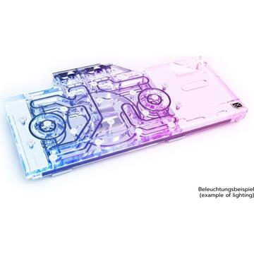 Alphacool Eisblock Aur Acryl GPX-A Radeon RX - 6800 / 6800XT Reference with backplate