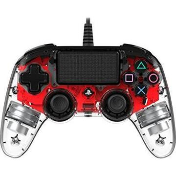 Nacon Wired Illuminated Compact Controller, Gamepad