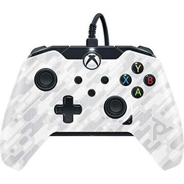 PDP Wired Controller - Ghost White