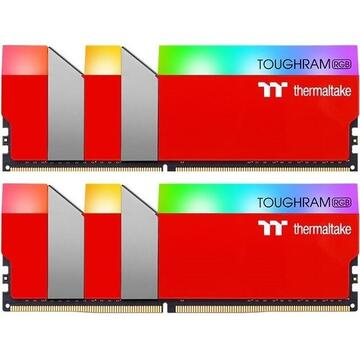 Memorie Thermaltake DDR4 16GB 3600 - CL - 18 Toughram RRG Dual Kit red - Limited Edition Racing Red