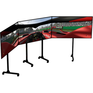 Suport monitor Next Level Racing Free standing triple monitor stand