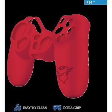Trust GXT 744B Rubber Skin PS4 CTRL Red