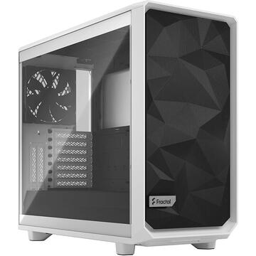 Carcasa Fractal Design Meshify 2 White TG Clear Tint, tower case (white, tempered glass)