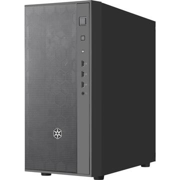 Carcasa Silverstone Technology SilverStone SST-FAR1B-PRO, tower case (black, side panel made of tempered glass)