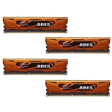 Memorie G.Skill DDR3 16GB 1333-999 Ares LowProfile Quad