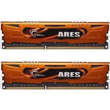 Memorie G.Skill DDR3 16GB 1333-999 Ares LowProfile Dual