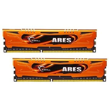 Memorie G.Skill DDR3 8GB 1600-999 Ares LowProfile AO Dual