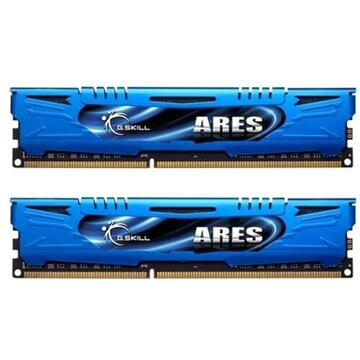Memorie G.Skill DDR3 8GB 1600-999 Ares LowProfile AB Dual