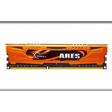 Memorie G.Skill DDR3 16GB 1600-10 Ares LowProfile Dual