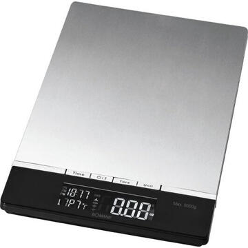 Cantar de bucatarie Bomann KW 1421 CB Electronic kitchen scale Black,Stainless steel