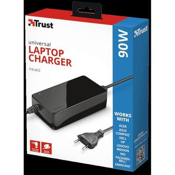 Trust Primo 90W-19V Universal Charger
