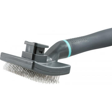 Perii, trimmere si clesti animale Zolux ANAH Brush with extendable needles Medium