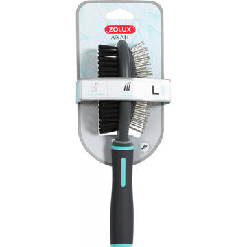 Perii, trimmere si clesti animale Zolux ANAH Double-sided brush large