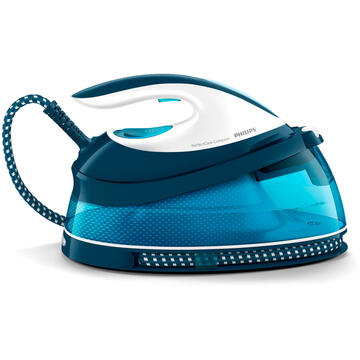 Fier de calcat Philips GC7840/20 steam ironing station 2400 W 1.5 L SteamGlide soleplate Blue, White