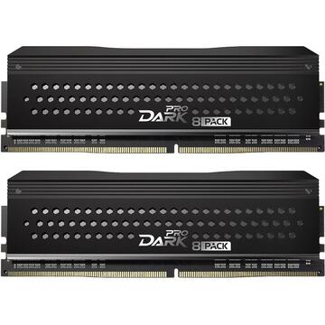 """Memorie Team Group Dark Pro """"8Pack Ripped Edition"""", DDR4-3600, CL14 - 16 GB Dual-Kit"""