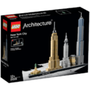 LEGO Architecture - New York 21028, 598 piese