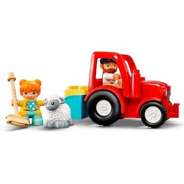 LEGO DUPLO - Tractor agricol 10950, 27 piese
