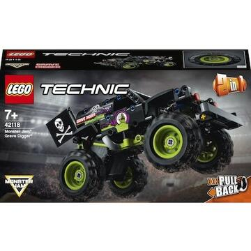 LEGO Technic - Monster Jam Grave Digger 42118, 212 piese