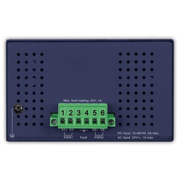 Switch PLANET IFGS-1822TF network switch Unmanaged Fast Ethernet (10/100) Blue