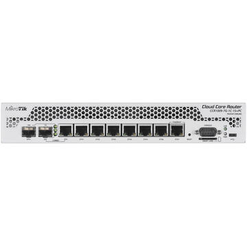 Switch Mikrotik CCR1009-7G-1C-1S+PC wired router Gigabit Ethernet White