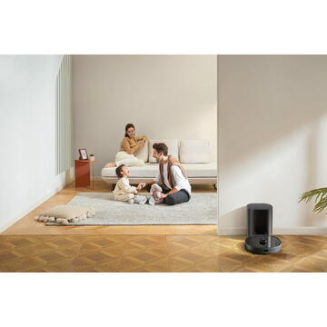 Aspirator Xiaomi Vacuum Cleaning Robot with Station Lydsto R1 (black)