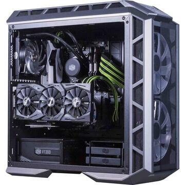 Cooler Master Sleeved Extension Cable Kit, Cable Management(green / black, 30cm)