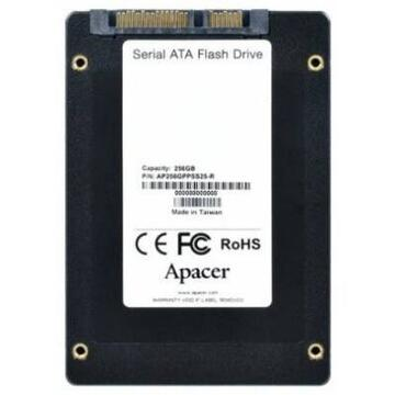 SSD ApacerAP256GPPSS25-R, Solid State Drive